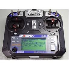 6 канальная аппаратура пульт FLY SKY FS-i6 + FS-iA6B